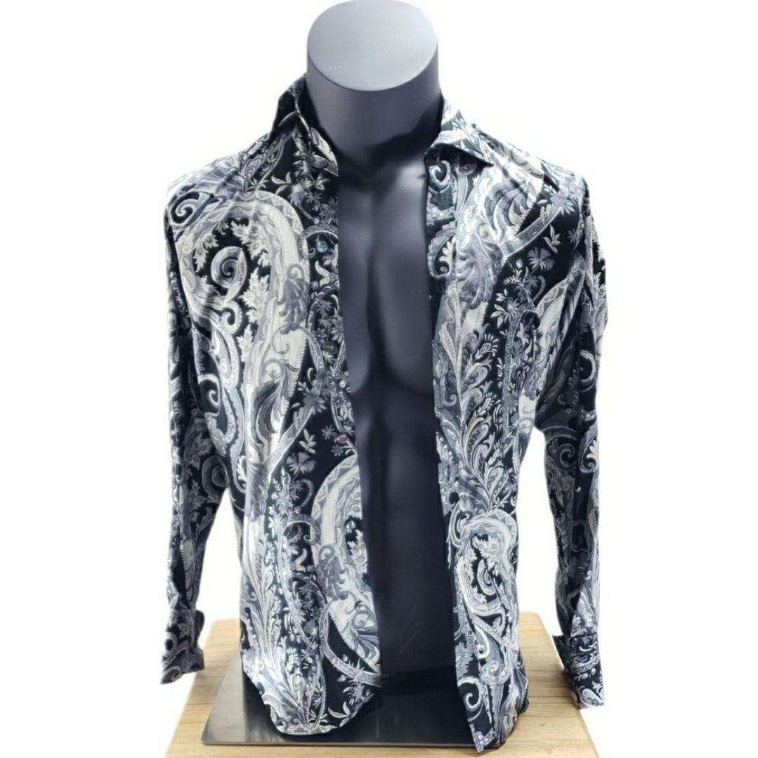 Ted Baker Size 14.5 Paisley Dress Shirt