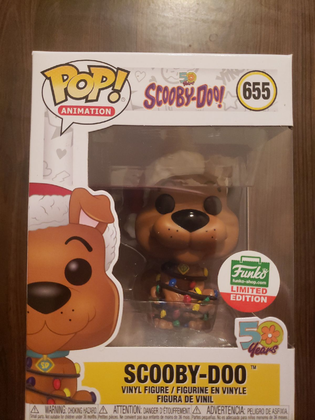Scooby Doo 50 Years Funko Limited 655