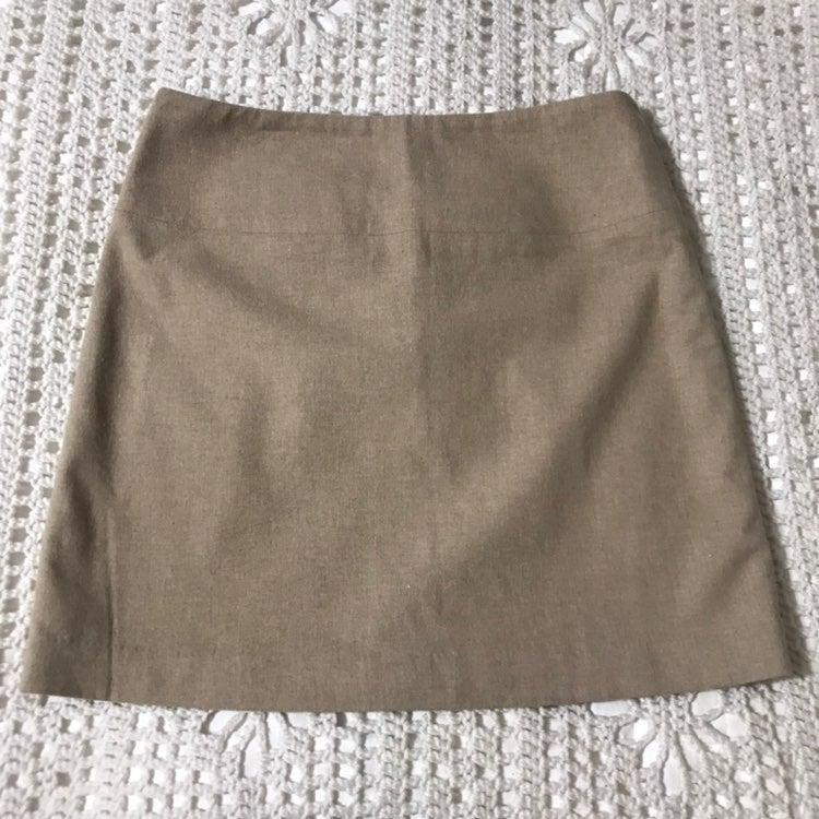 Banana Republic Stretch Wool Mini Skirt