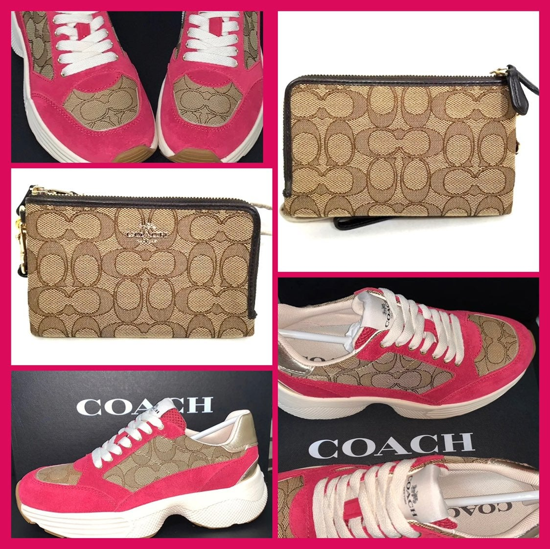Coach Women's C152 Tech Runner Sneaker