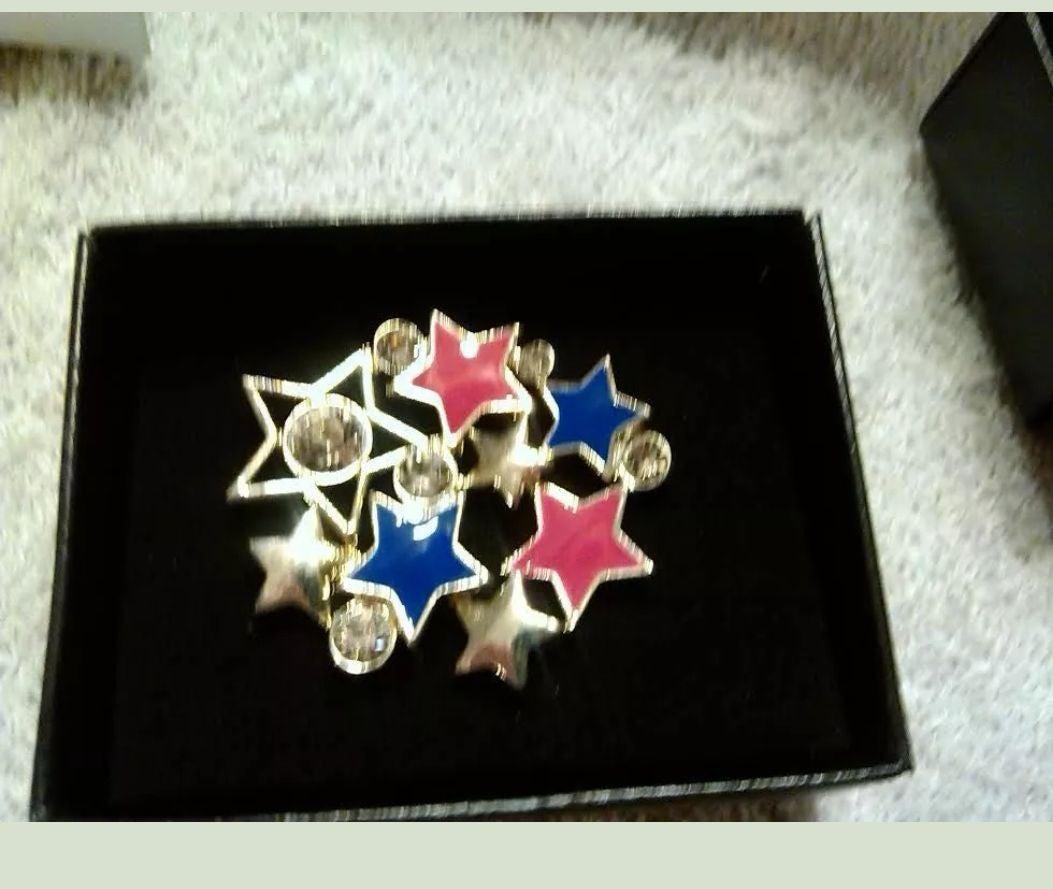New Avon Lady Liberty Star Pin