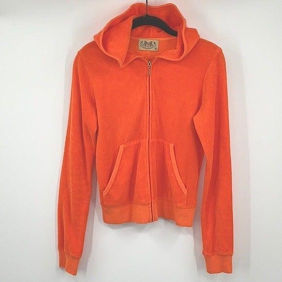 Juicy Couture Zip Up Hoodie Size Medium