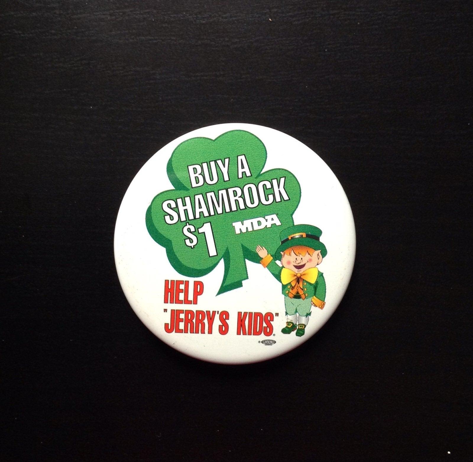 McDonalds Jerrys Kids Shamrock Shake Pin