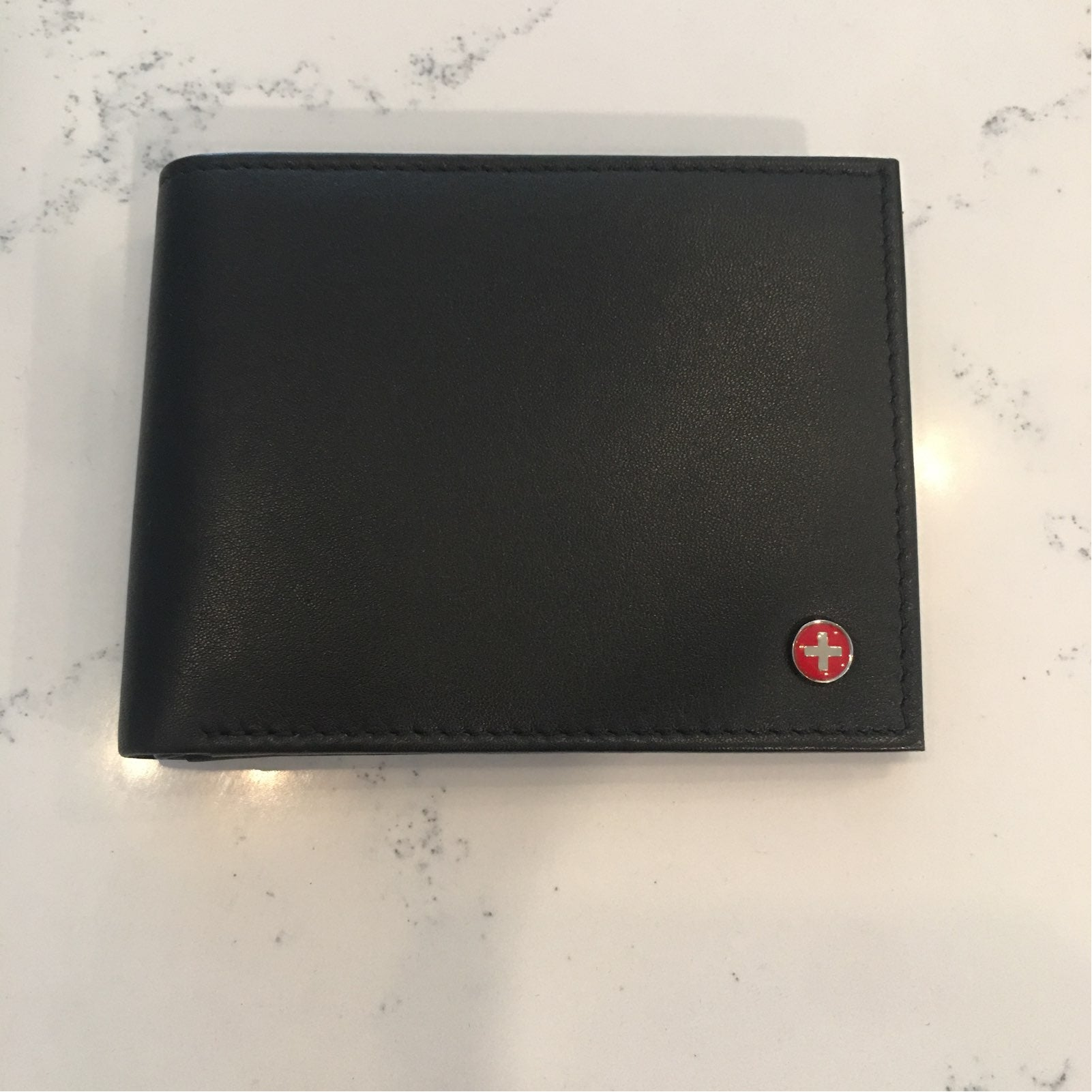 Alpine Swiss Men's Leather Wallet