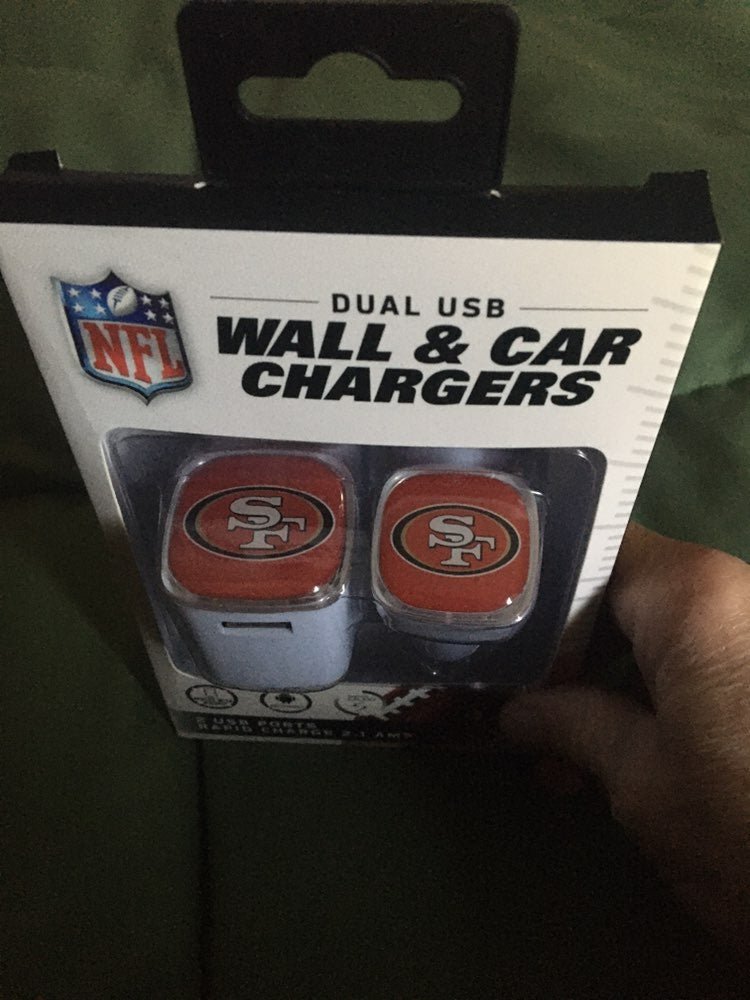 NFL Forty niners portable charger