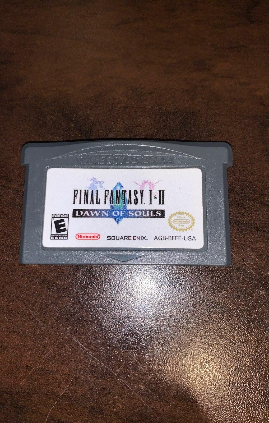 Final Fantasy 1 & 2 Dawn of Souls - Cart