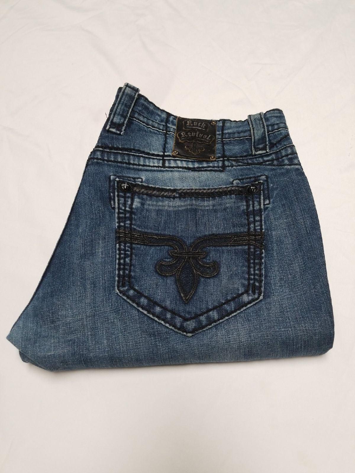 Rock Revival jeans men 40x32