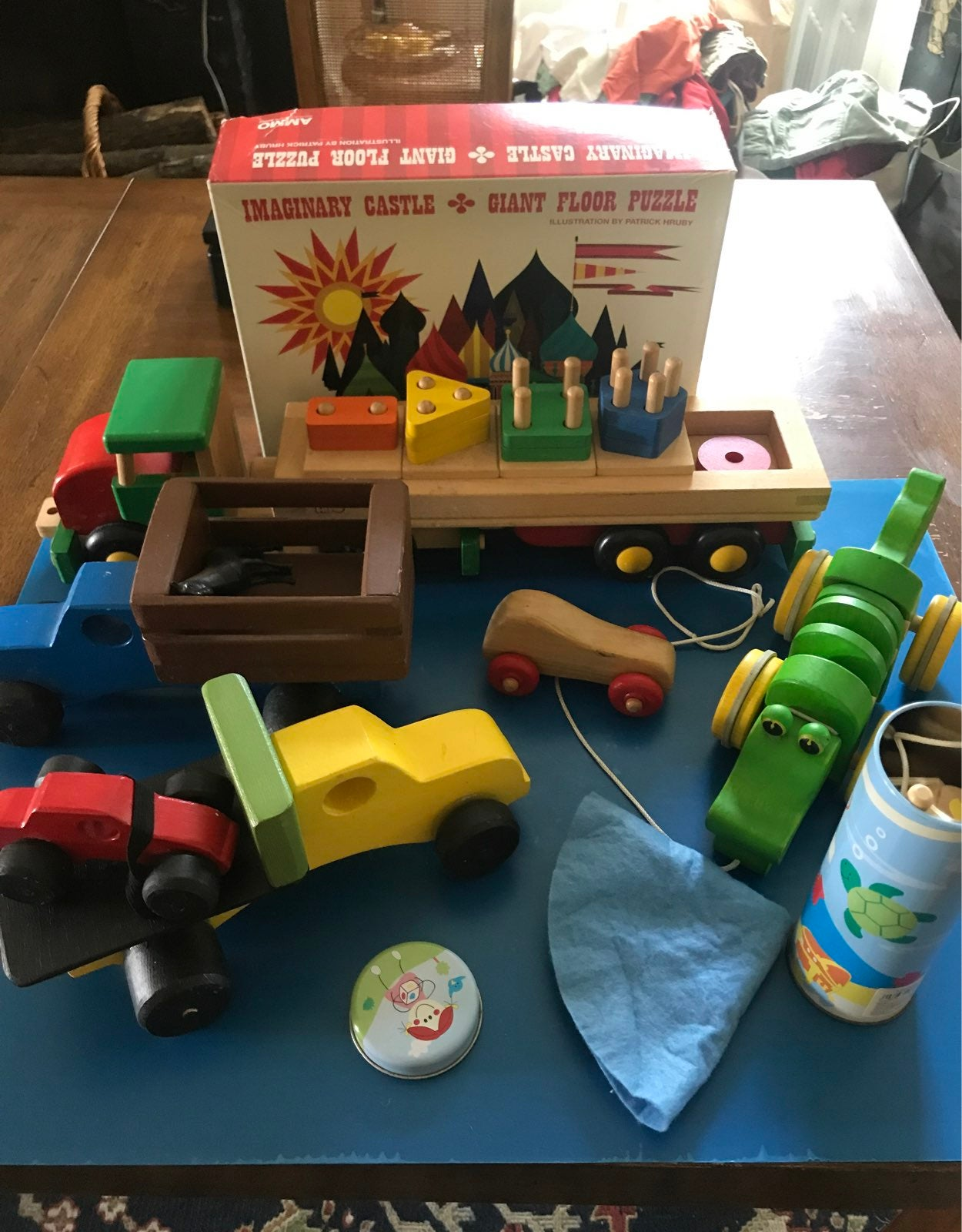 Plan Toy wooden toys puzzle order B