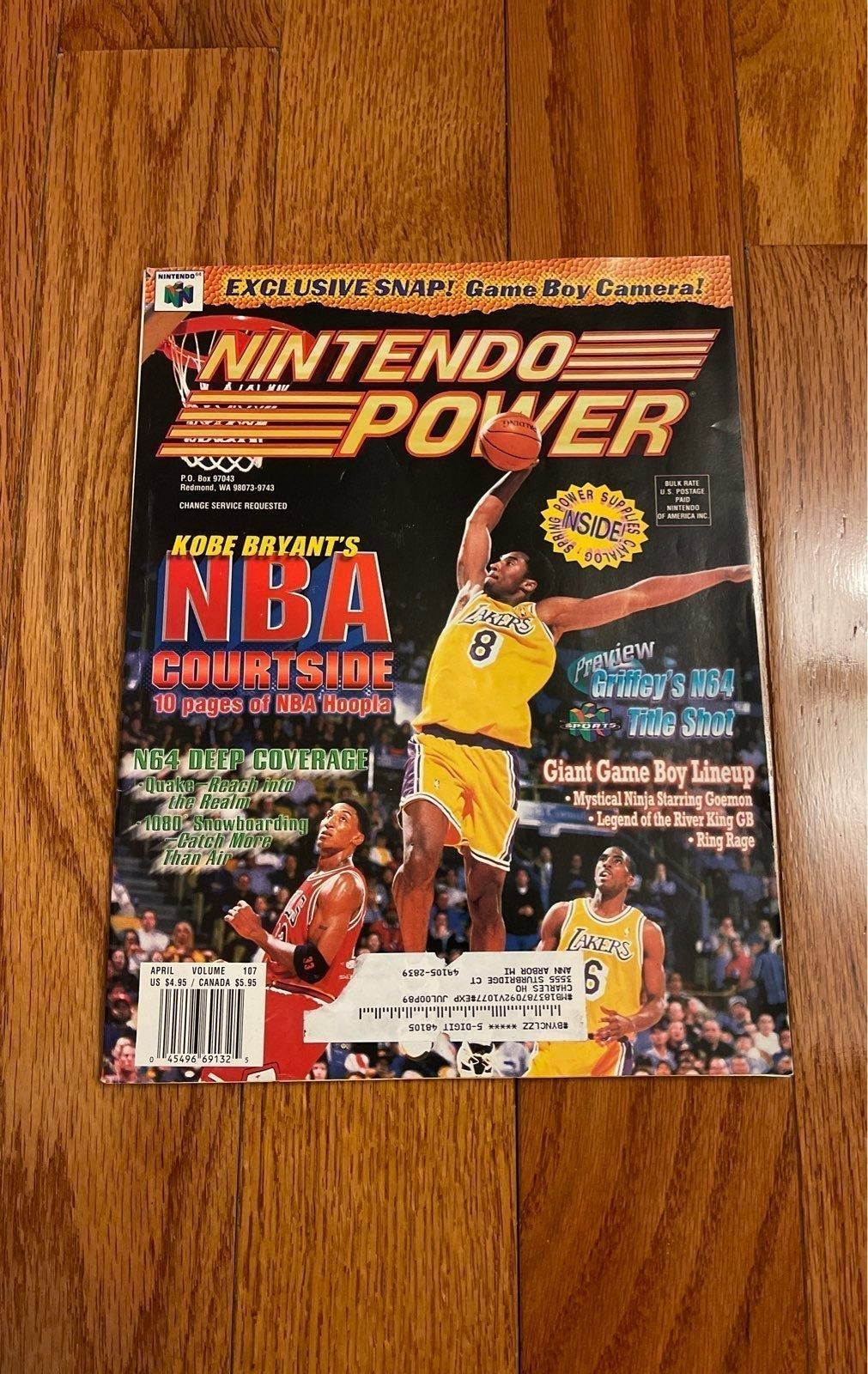 Nintendo Power Magazine #107