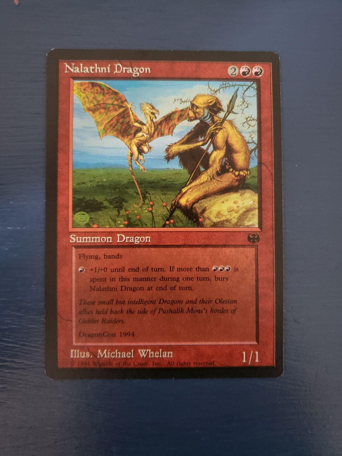 MTG Nalathni Dragon