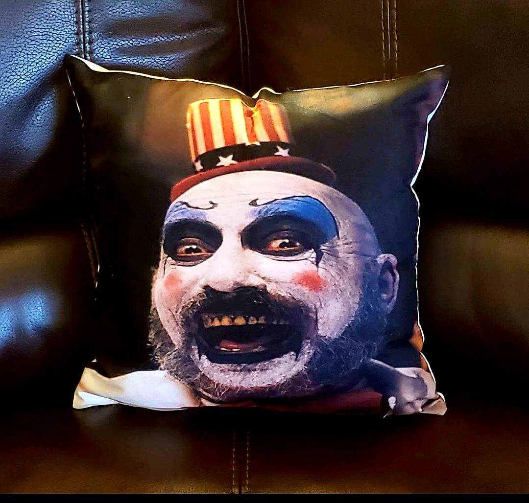 Rob Zombie Sid Haig 18x18 Pillowcase