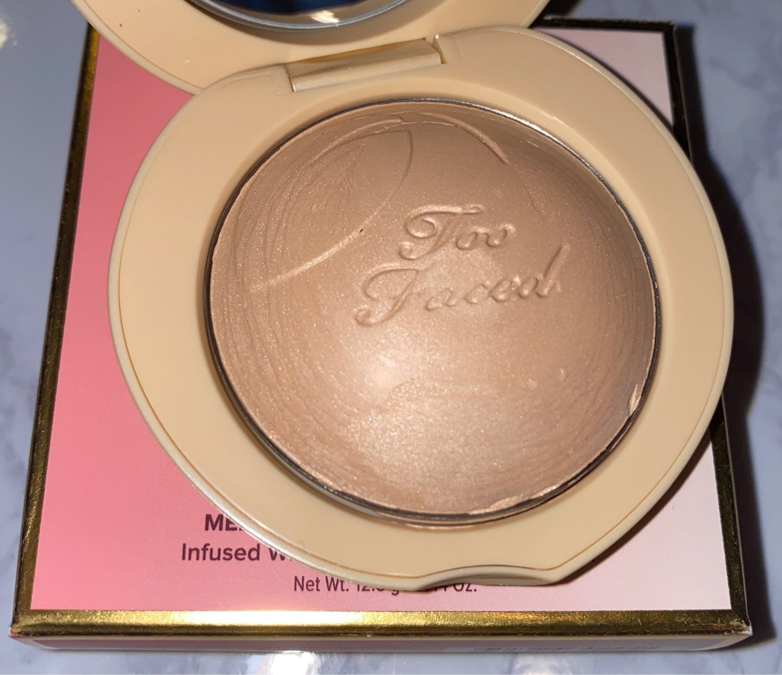 Too Faced Peach Frost Happy Face