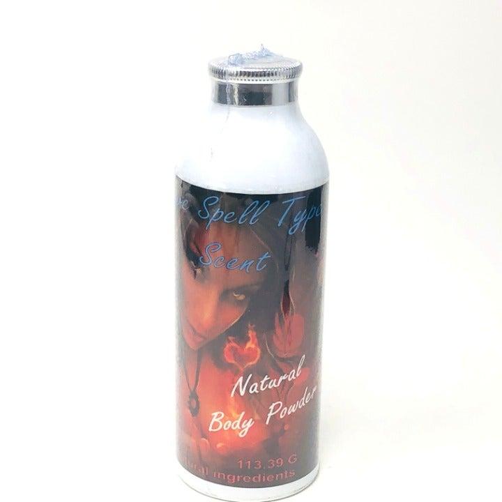 Love Spell Type Body Powder designer 4oz
