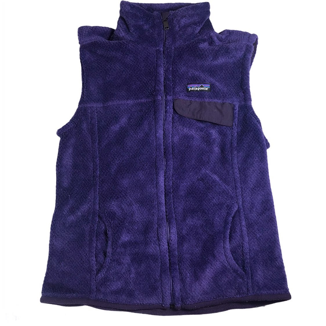Patagonia Re-tool Purple Fleece Vest M