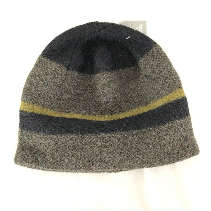 Pistil Mens Asher Beanie Hat Wool Stripe