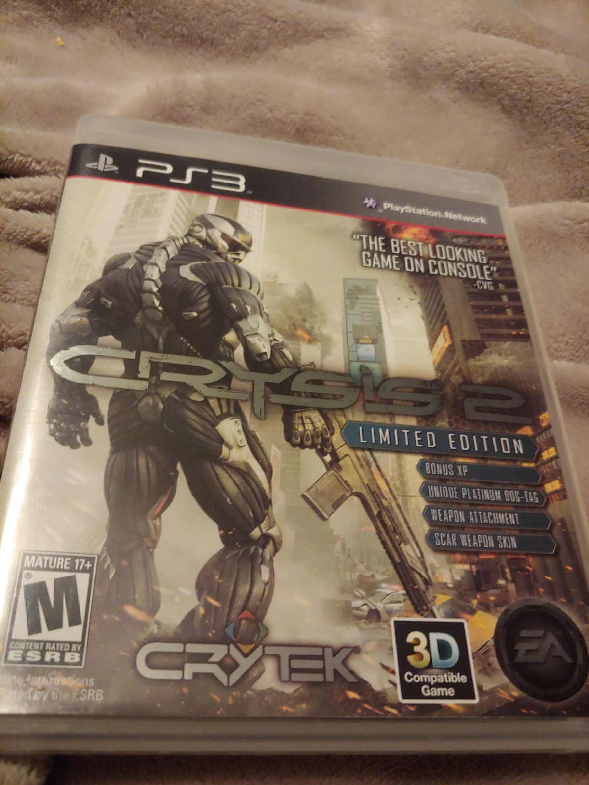 PS3 Crysis 2 Limited Edition