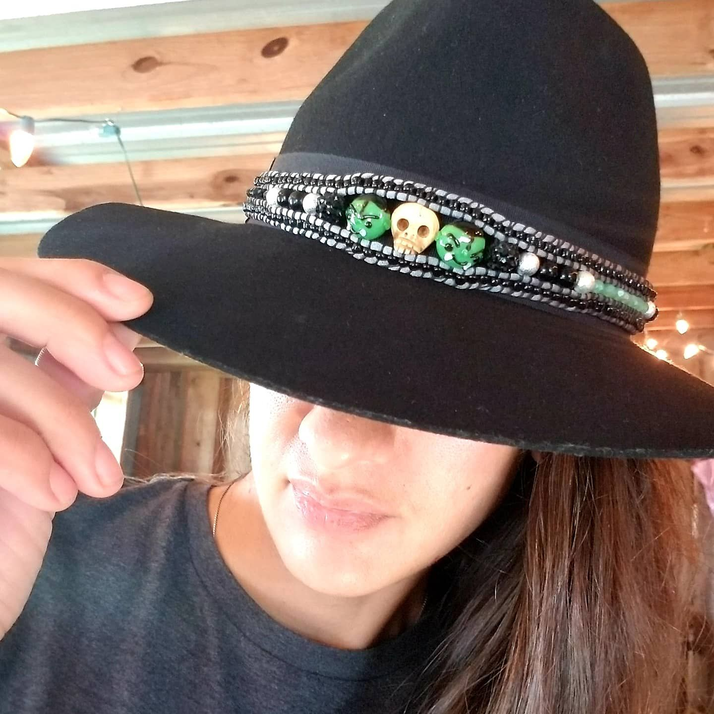 Halloween vampire hatband
