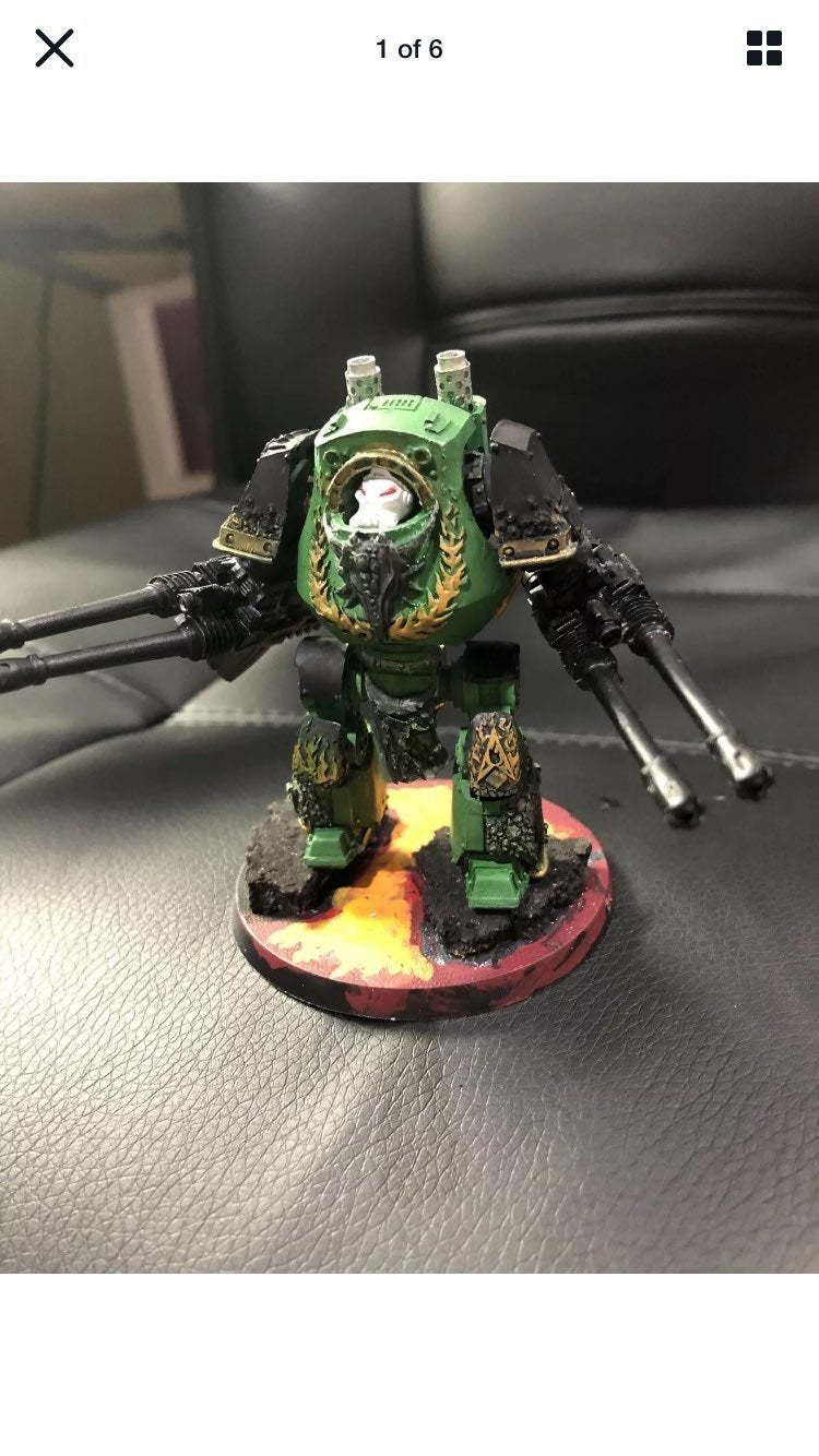 Forgeworld contemptor dreadnought