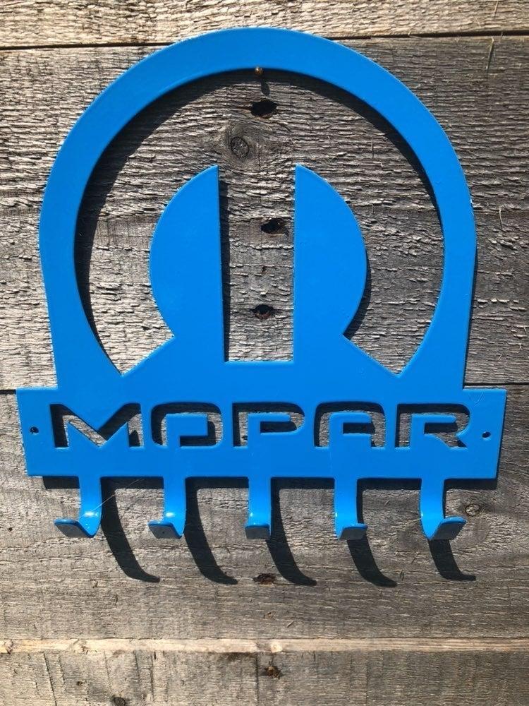 Mopar key rack with hooks.  New