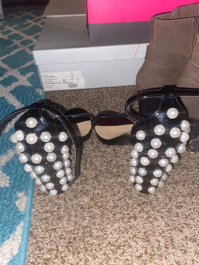 Penny loves kenny party heels