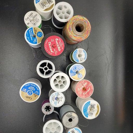 18 rolls sewing machine thread