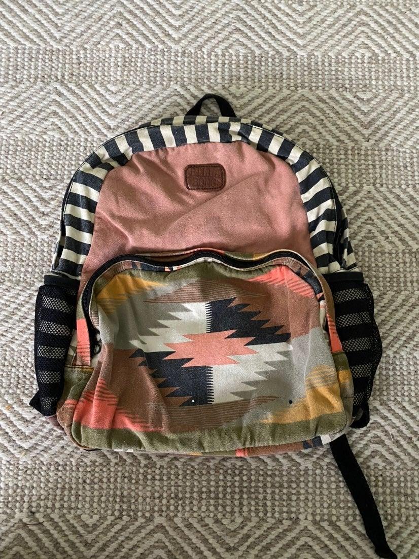 Billabong tribal backpack