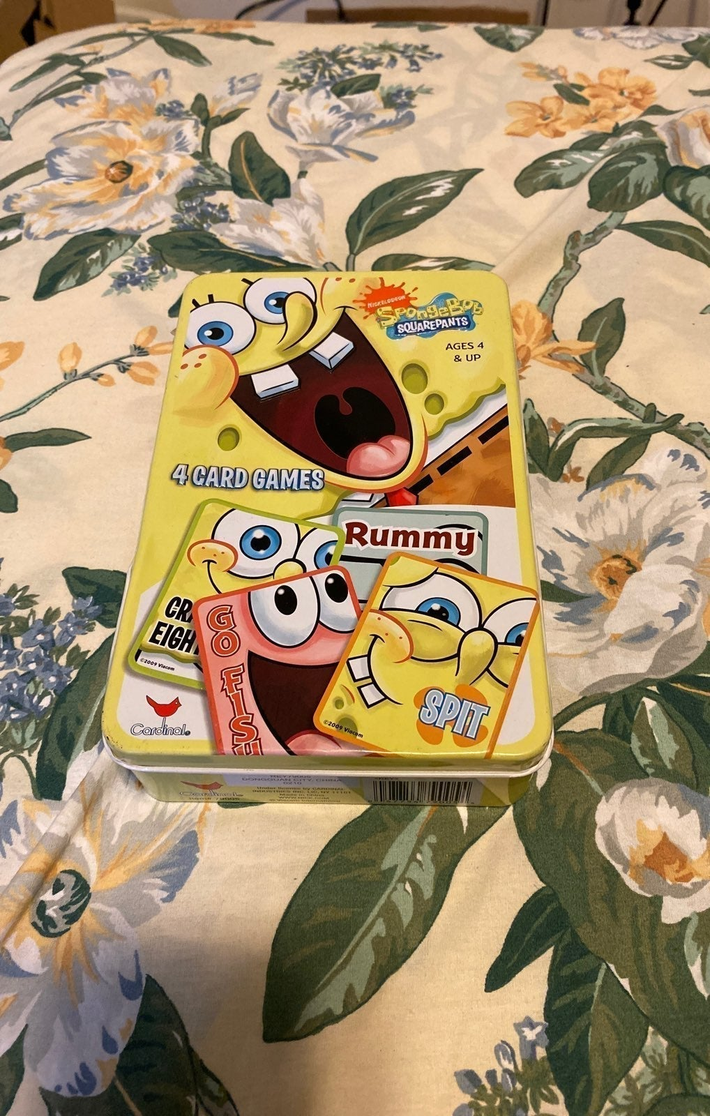 Spongebob Card Game Set