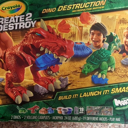 Crayola Dinosaurs Create2Destroy
