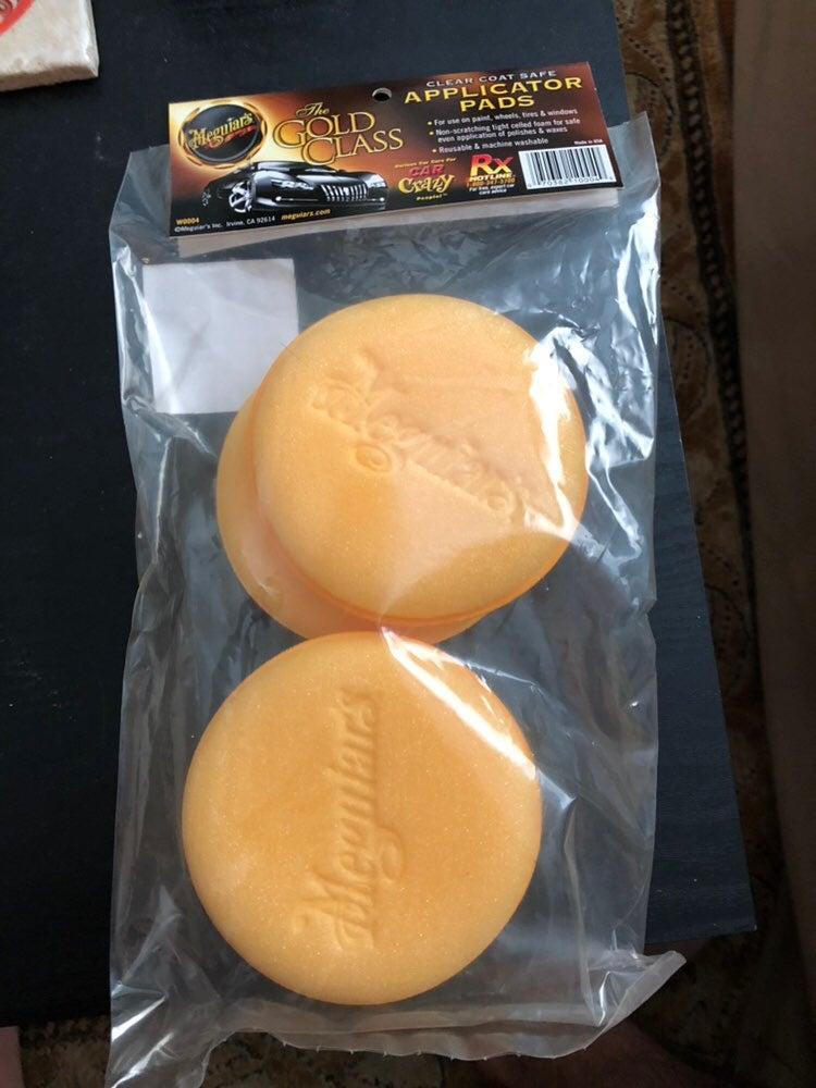 Meguiar Gold Class Applicator Pads