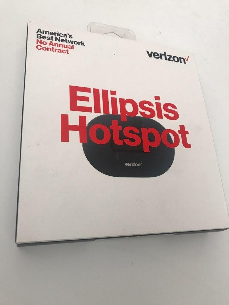 Verizon Prepaid Ellipsis Jetpack Hotspot