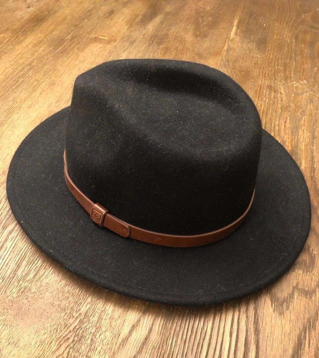 Brixton Messer Fedora Hat - Medium