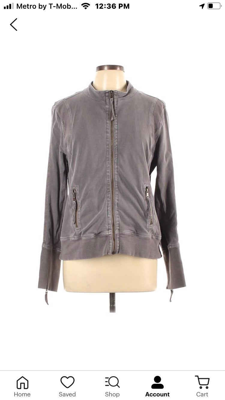 Fitted soft cotten great fitting jacket