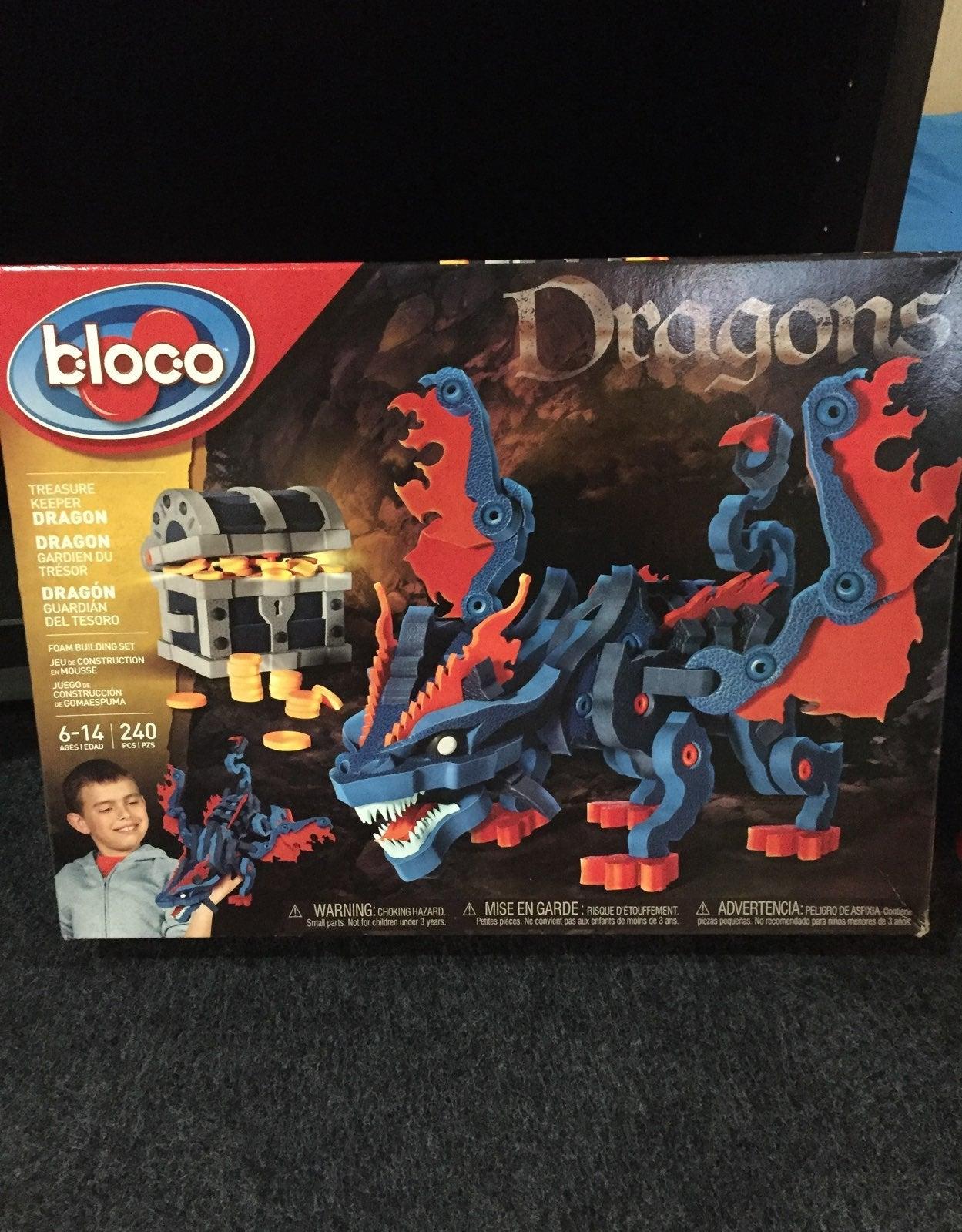 Bloco Treasure Keeper Dragon Foam Kit