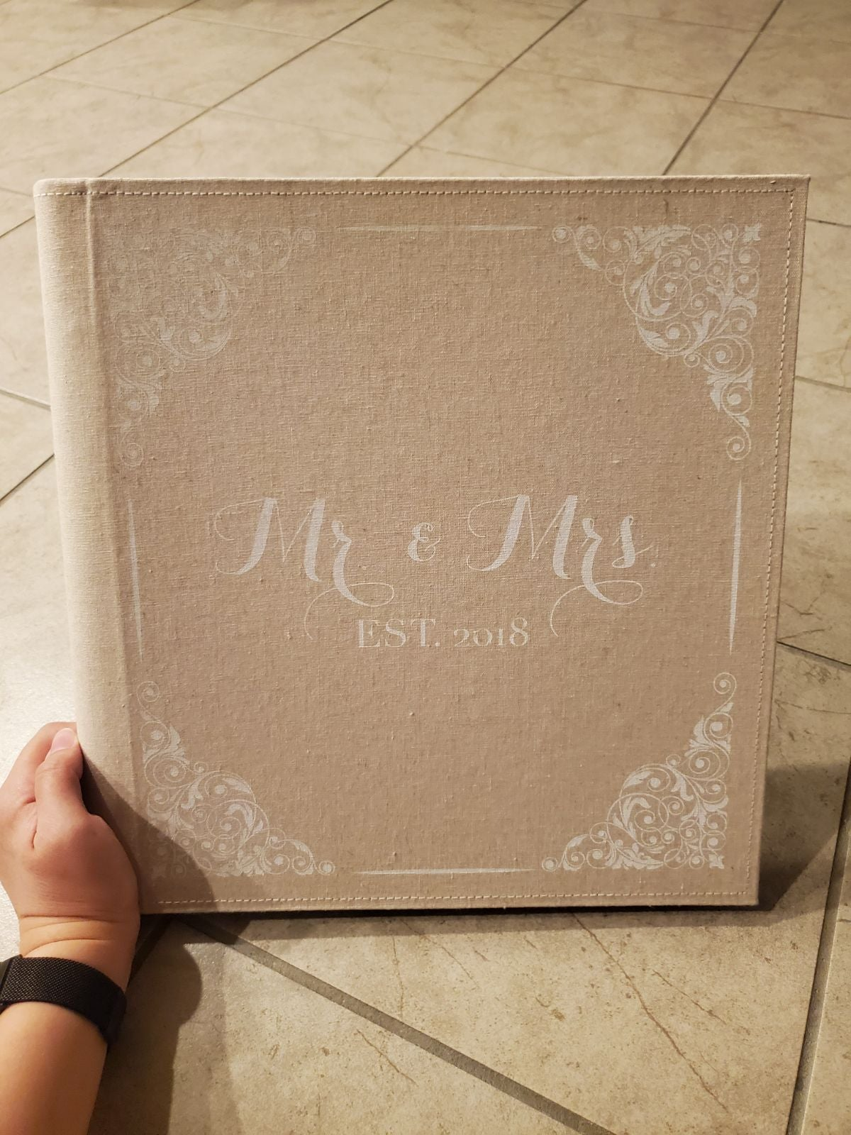 Mr. and Mrs. est. 2018 Photo Album