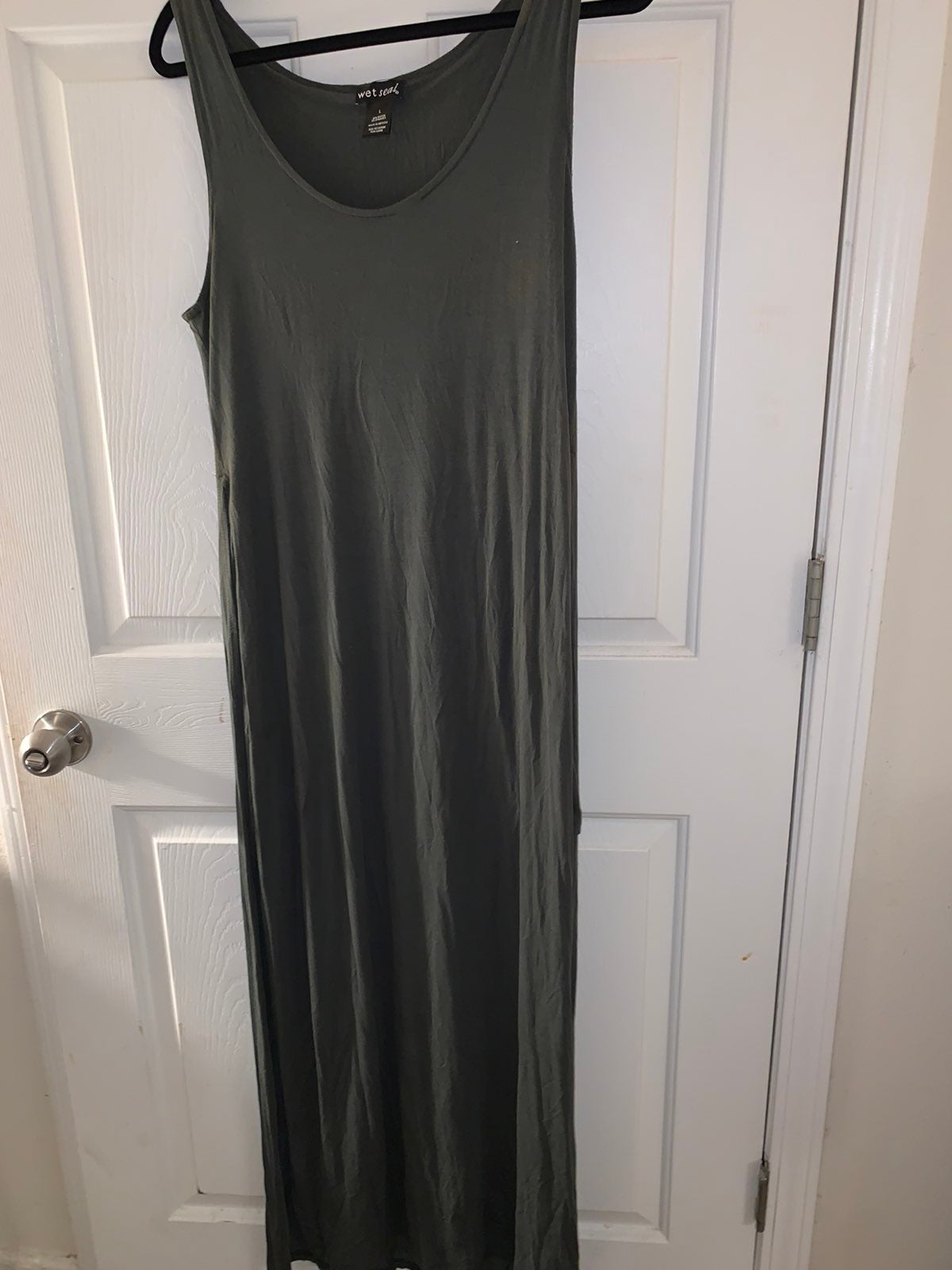 Wet Seal Army green Maxi Dress