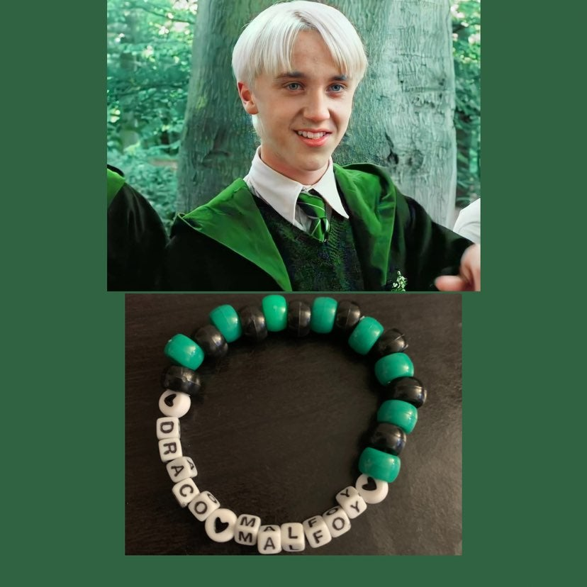 Draco Malfoy Harry Potter Pony Beaded