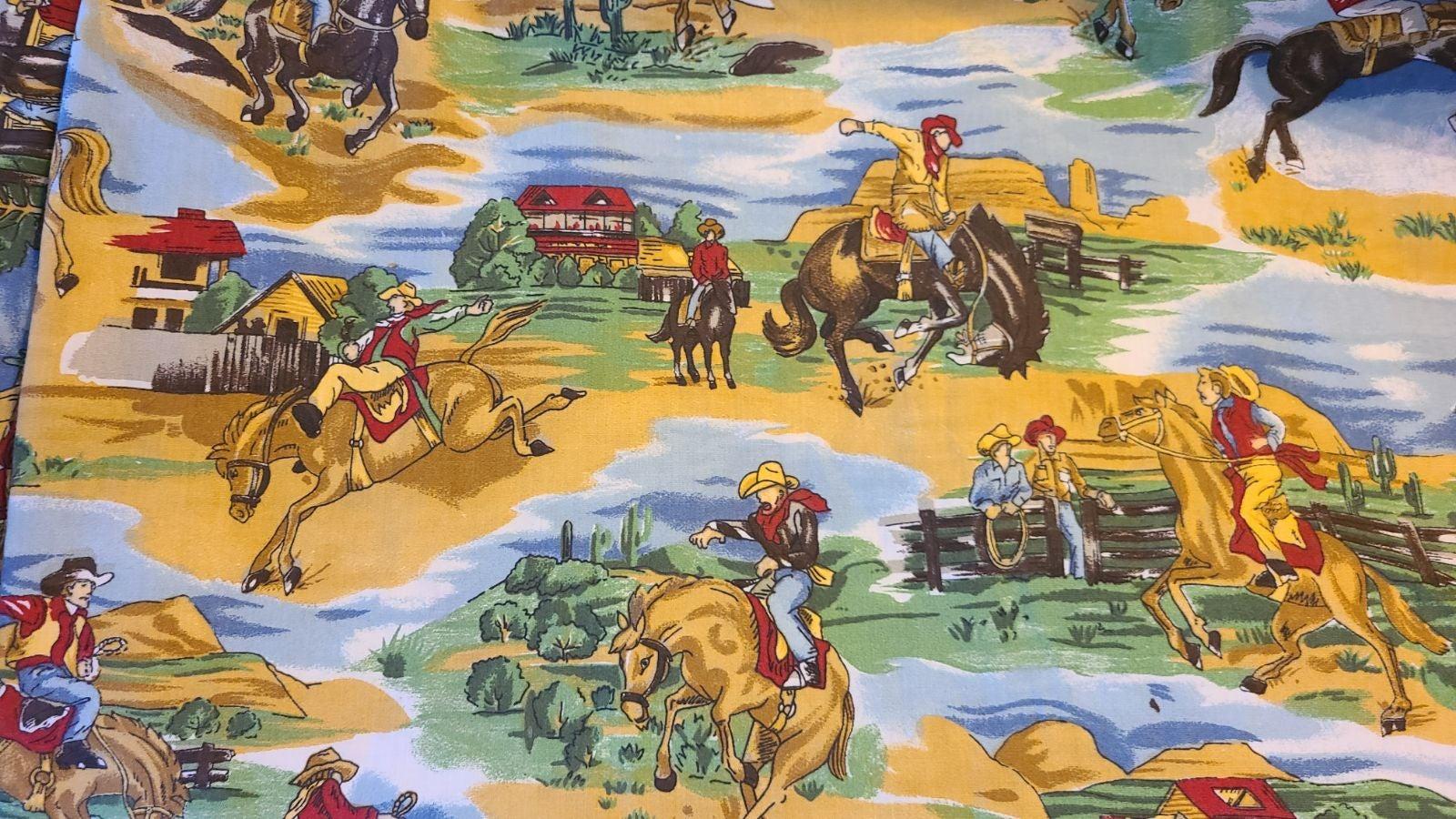 Vintage Cowboy Material