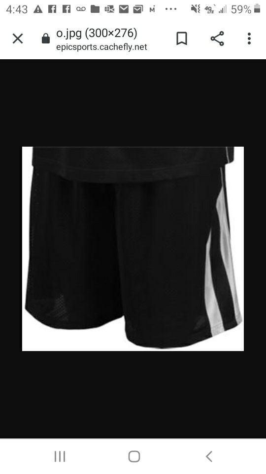 2 Pair Men's 2XL Athletic Shorts