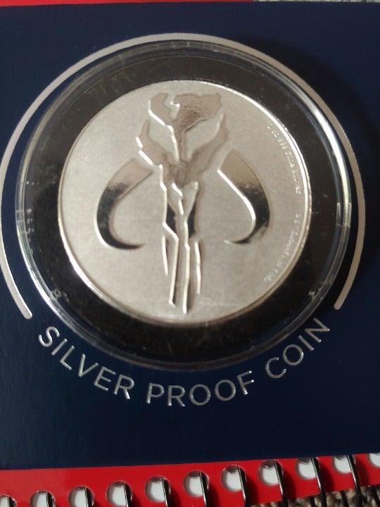 Star wars Mandalorain Coin