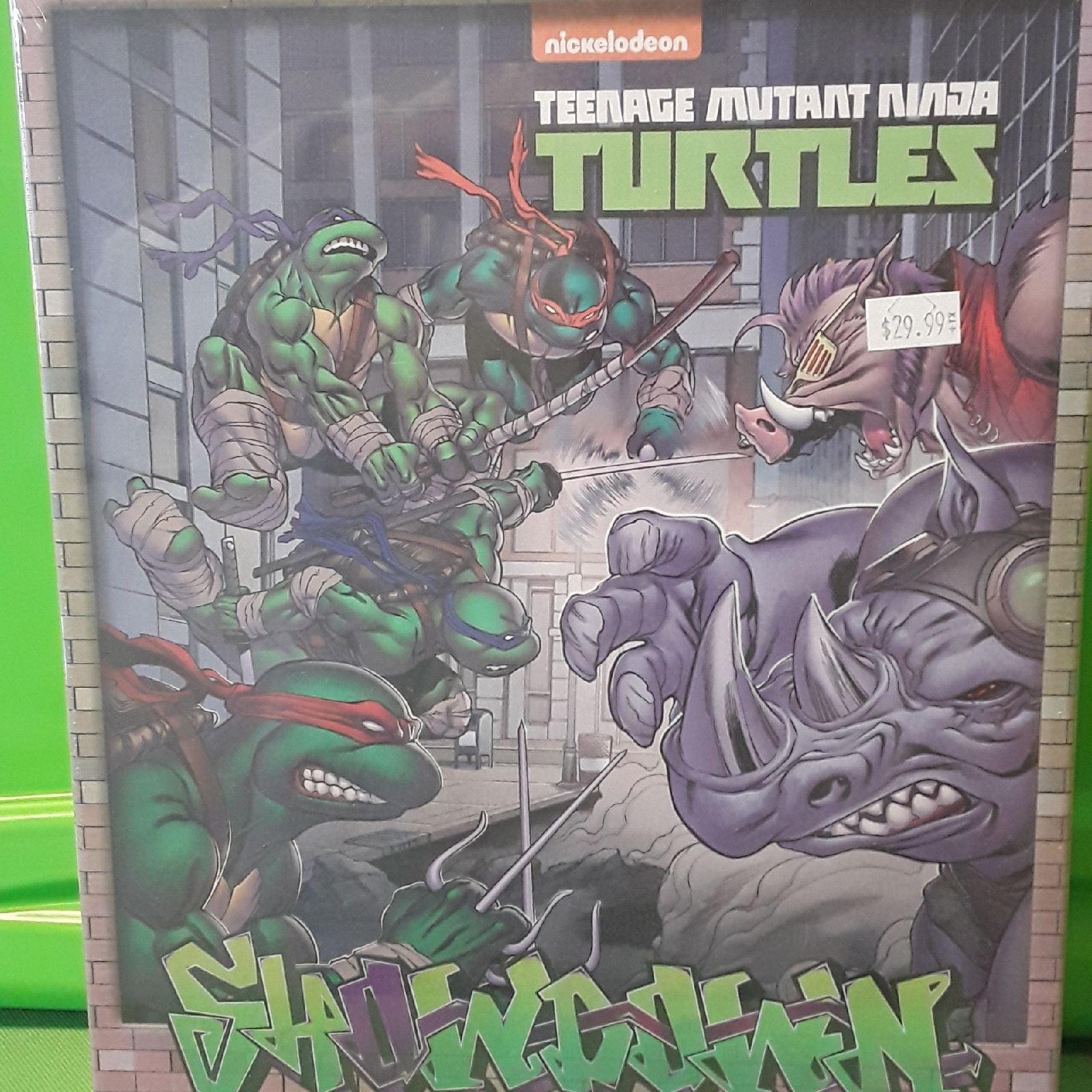 Ninja Turtles Showdown board game