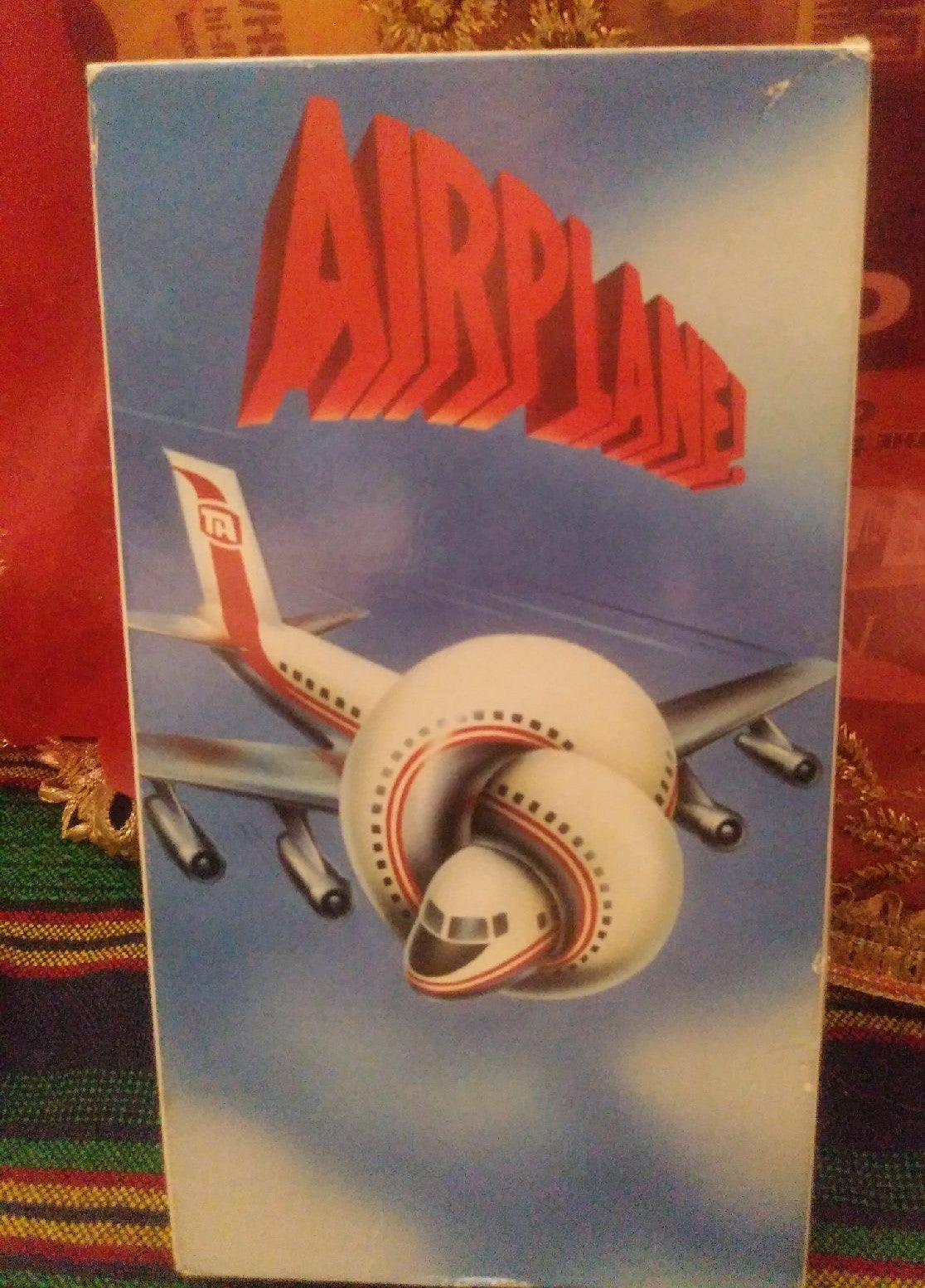AIRPLANE! - VHS movie Cult Classic Comed