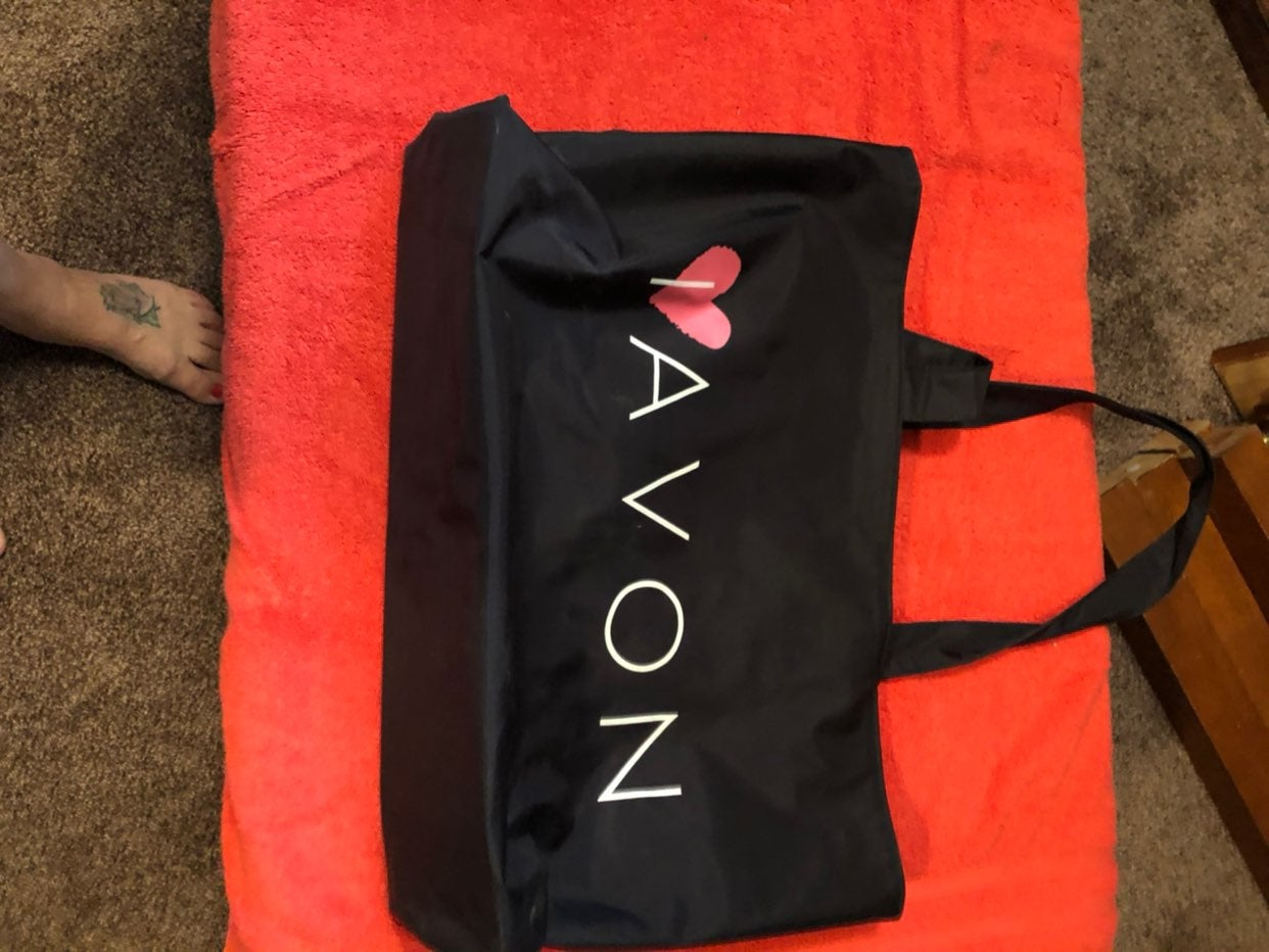 Avon carry all of your books and tools t