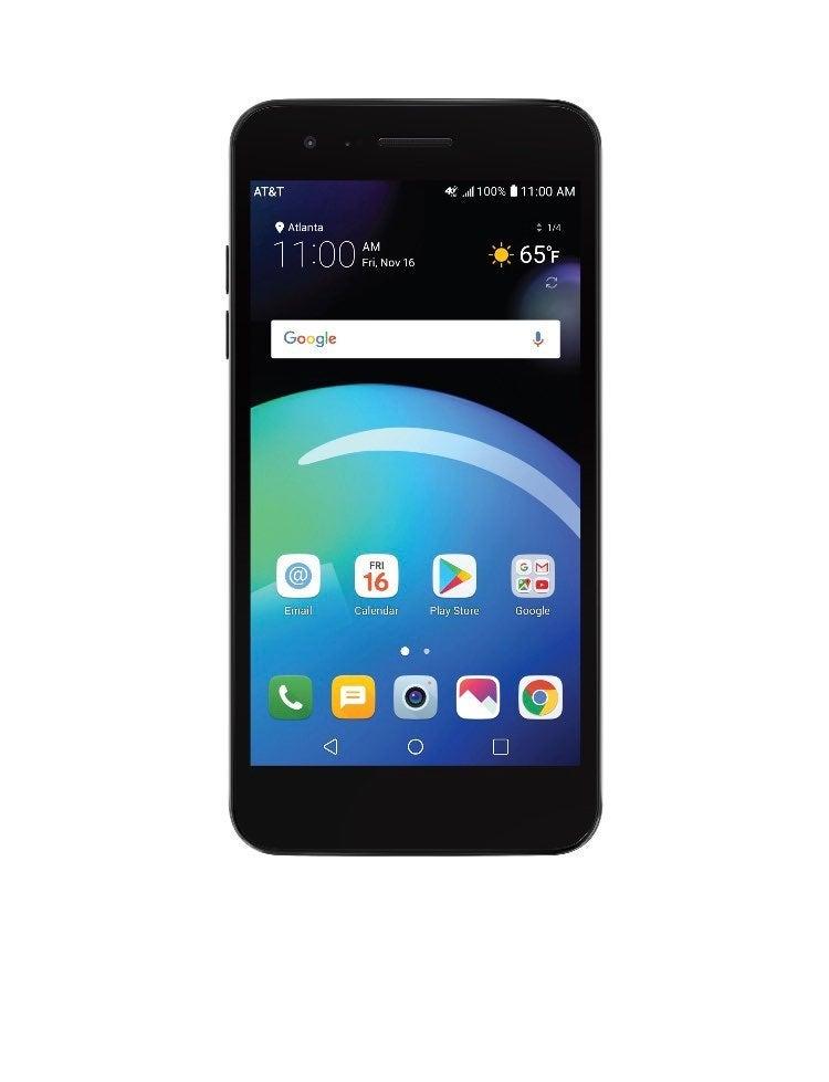 AT&T Prepaid LG Phoenix 4 - 16GB - Black