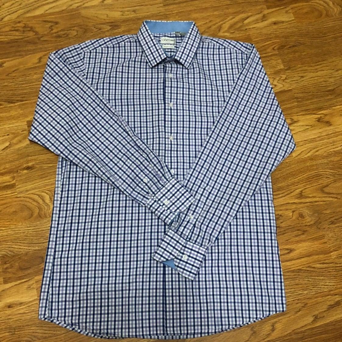 Berlioni Mens Dress Shirt