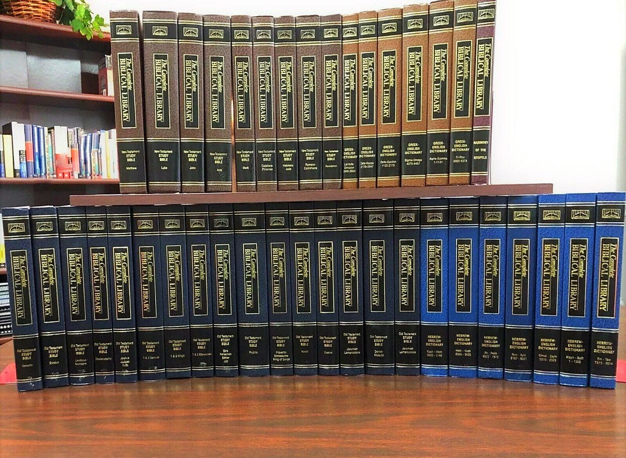 Complete Biblical Librarya 39-volume li