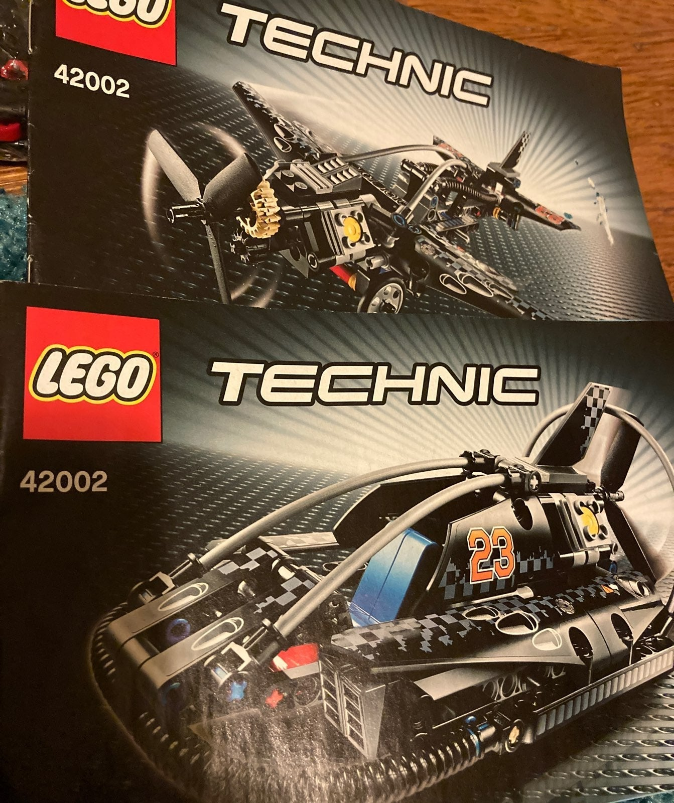 LEGO technic 2 in 1 hover vehicle/plane