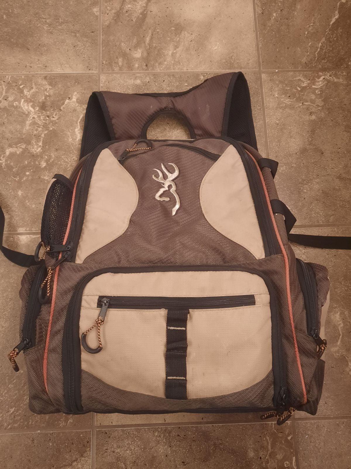 Browning fishing backpack