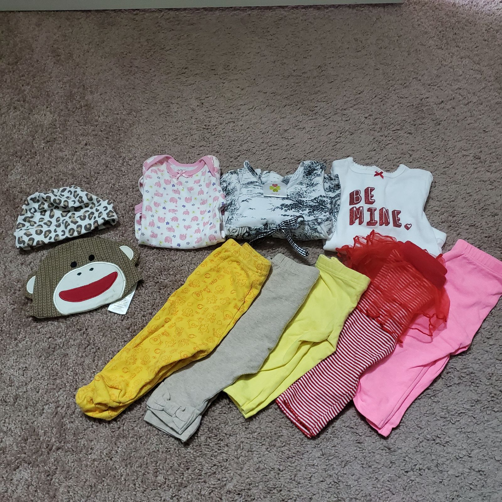 Bundle of 3-6M and 6-9M Baby Girl Winter