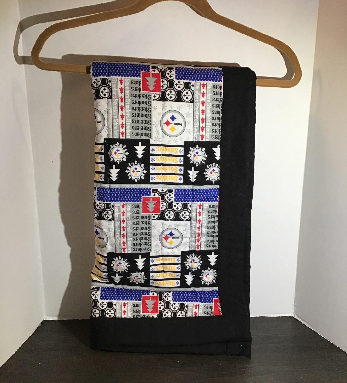 Pittsburgh Steelers Handmade Quilt
