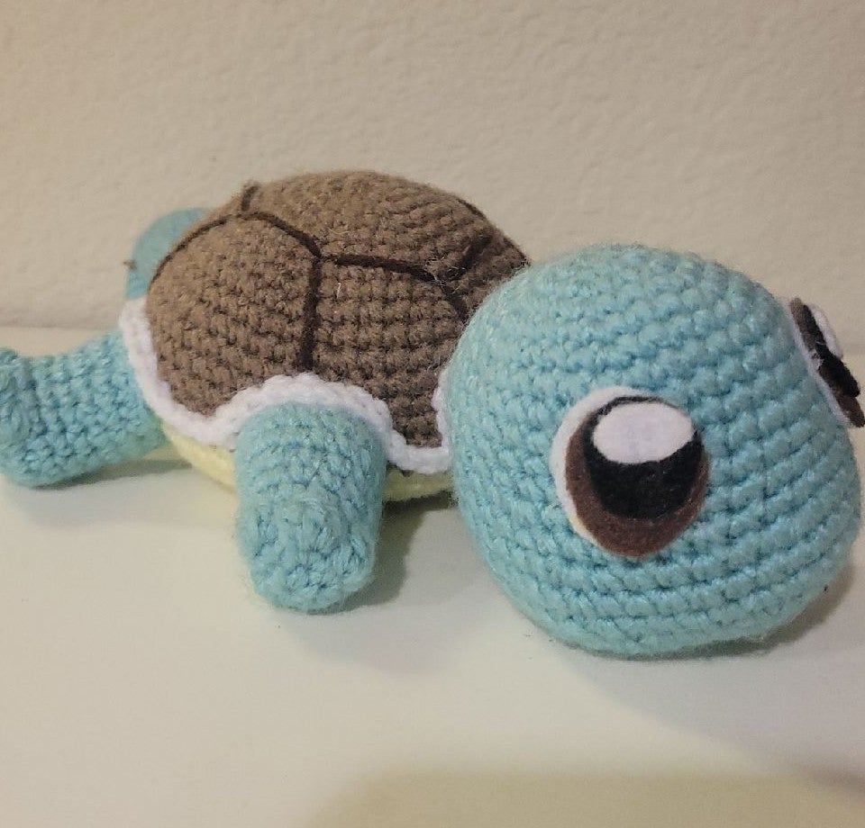 Crochet Doll - Squirtle from Pokemon